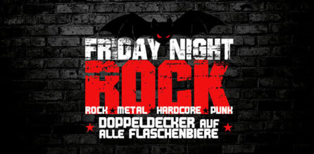 jeden Freitag – Friday Night Rock